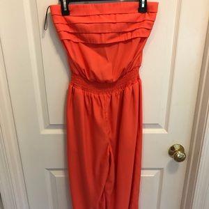 bebe Other - Orange jump suit! I've only worn it 2 times!